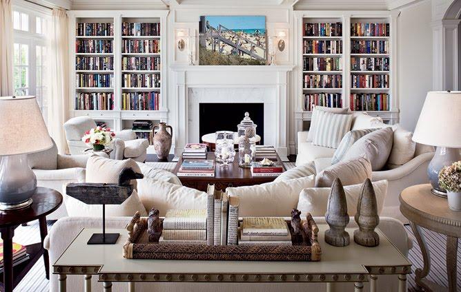 hamptons home design. Architectural Digest Hamptons Home Living Room Built Book Shelves The Hamptons Home